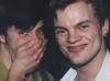 Paul und Willi lachend